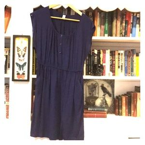 Blue Old Navy Dress With Pockets